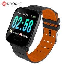A6 Smart Watch Ip67 Waterproof Activity Fitness Tracker Bracelet Heart Rate Monitor Blood Pressure Men Women Smartwatch