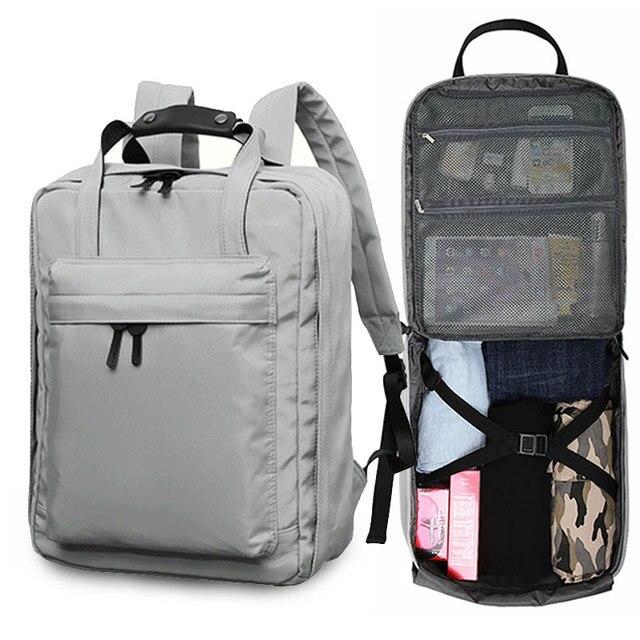 Ciepia 방수 야외 여행 배낭 여성과 남성 짧은 여행 캐주얼 노트북 배낭 대용량 roomy 가방 가방