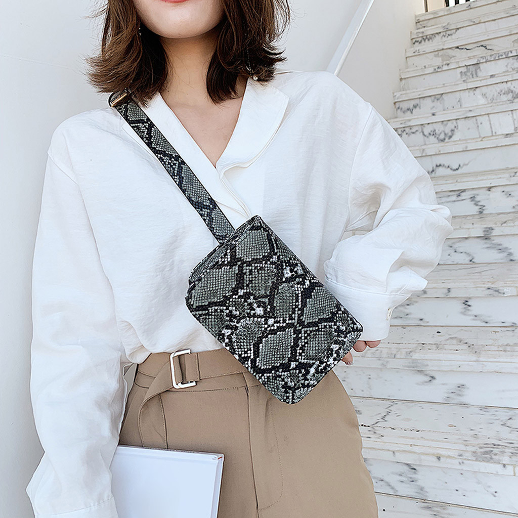 Sleeper #J5 2019 NEW Women Outdoor Hasp Serpentine Messenger Bag Chest Bag Waist Bag Phone Bag поясная сумка Gift Free Shipping