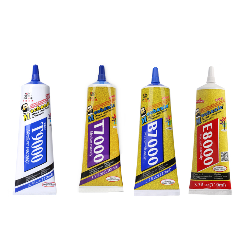MECHANIC B7000 T9000 T7000 E8000 Multi-Purpose Mobile Phone Screen Adhesive Clear Liquid Glue Super Glue DIY Mobile Phone Sets