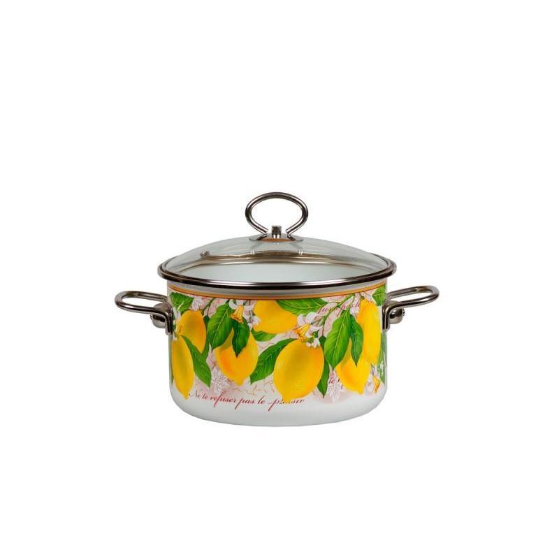 купить Pan VITROSS, Limon, 2 L, with glass cover дешево