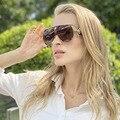 2020 de alta qualidade luxo óculos de sol feminino couro fivela rebites metal óculos sol vintage tons uv400 oculos sol