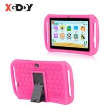 XGODY 7 pulgadas tableta de aprendizaje para niños Android 8,1 niños tabletas pc 16GB Quad Core Dual Cámara WiFi tableta portátil caso