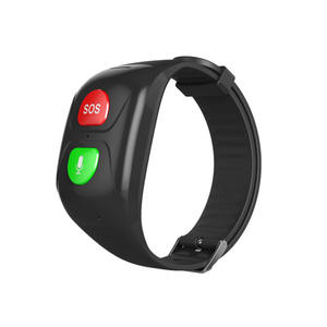 Blood-Pressure-Monitoring GPS Sos-Button Heart-Rate Elderly Child GSM Tracking Real-Time