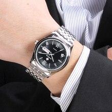 relogio WWOOR Watches Mens 2020 Luxury Full Steel Leisure Fa