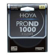 HOYA 77 мм ND1000 ультра тонкая нейтральная плотность 10 стоп для камеры ND 1000 67 72 77 82