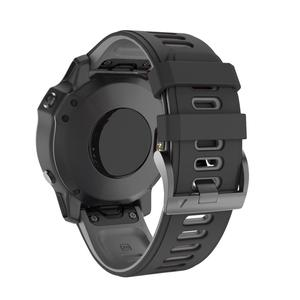 Image 2 - 22 26MM Release Quick Watchband for Garmin Fenix 6 6S 6X Pro 20mm Silicone Easyfit Wrist Band For Fenix 5 5S 5X Plus Watch Strap