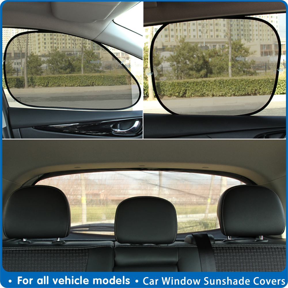 ajustable coche Sun cortina cortina de ventana Coche Parasol Negro ventana de coche Cortina