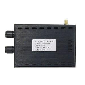 Image 2 - New 50KHz 2GHz Malachite DSP SDR Receiver Malahit SDR Shortwave Radio Receiver Aluminum Alloy Shell