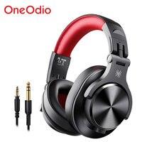 Oneodio A70 profesjonalne słuchawki dla DJ przenośny regulowany bezprzewodowy/przewodowy zestaw słuchawkowy Bluetooth5.0 słuchawki do nagrywania monitora