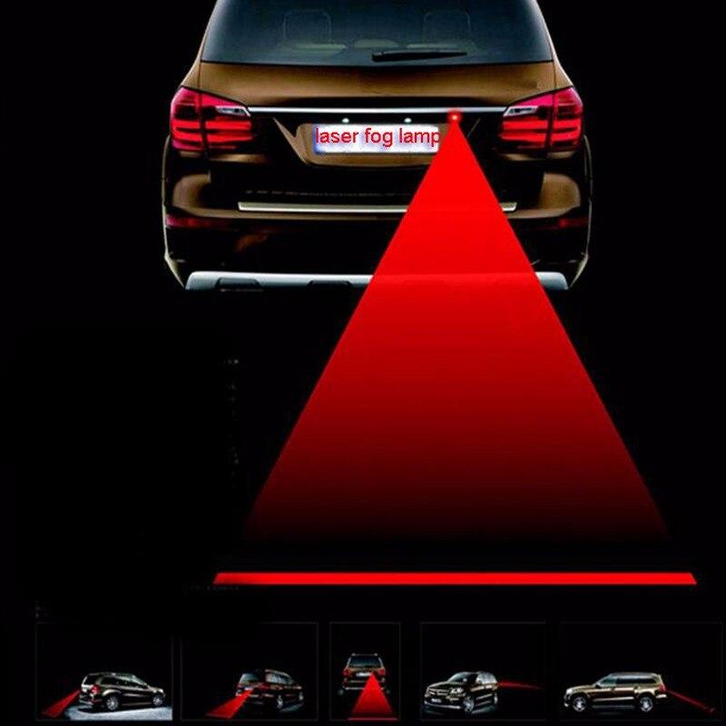 1 Pc LED Rücklicht Super Helle Sicherheit Rainning Fogging Laser Auto Brems Parkplatz Anti Collisionlamp Für Auto Zubehör