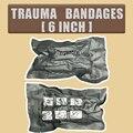 Emergency Hemostatic Trauma Bandages Military Solider Training Injuries Sterilizated Bandage 6INCH