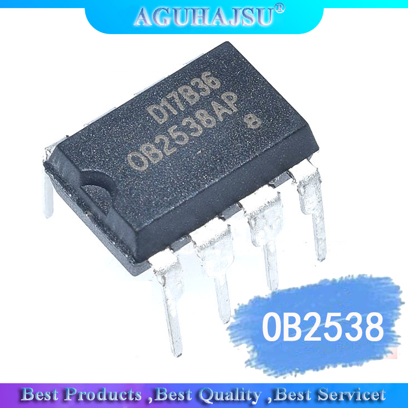 1PCS  OB2538 OB2538AP  Management IC OB2538 DIP-8   Original