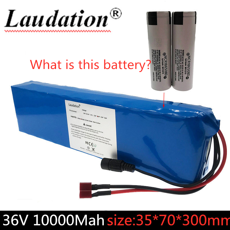 2019 laudation 36V 10S3P 42V 10Ah ultrathin 15A BMS high capacity 18650 lithium battery pack ebike electric scooter bike motor