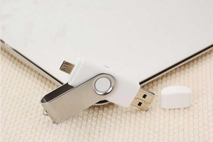Clé Usb 2.0 OTG pleine capacité pour SmartPhone/tablette/PC 8GB 16GB 32GB 64GB 128GB clé USB haute vitesse