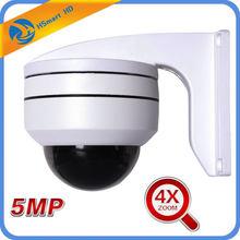 Caméra dôme PTZ IR 5MP 4X ZOOM AHD SONY 323 1080P 2.0 MP, TVI CVI, CMOS AUTO, pour l'extérieur