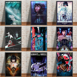 Japan Anime Hot Ghost In The Shell Fight Police Canvas Painting Posters And Prints Art Wall Art Pictures For Living Room Decor