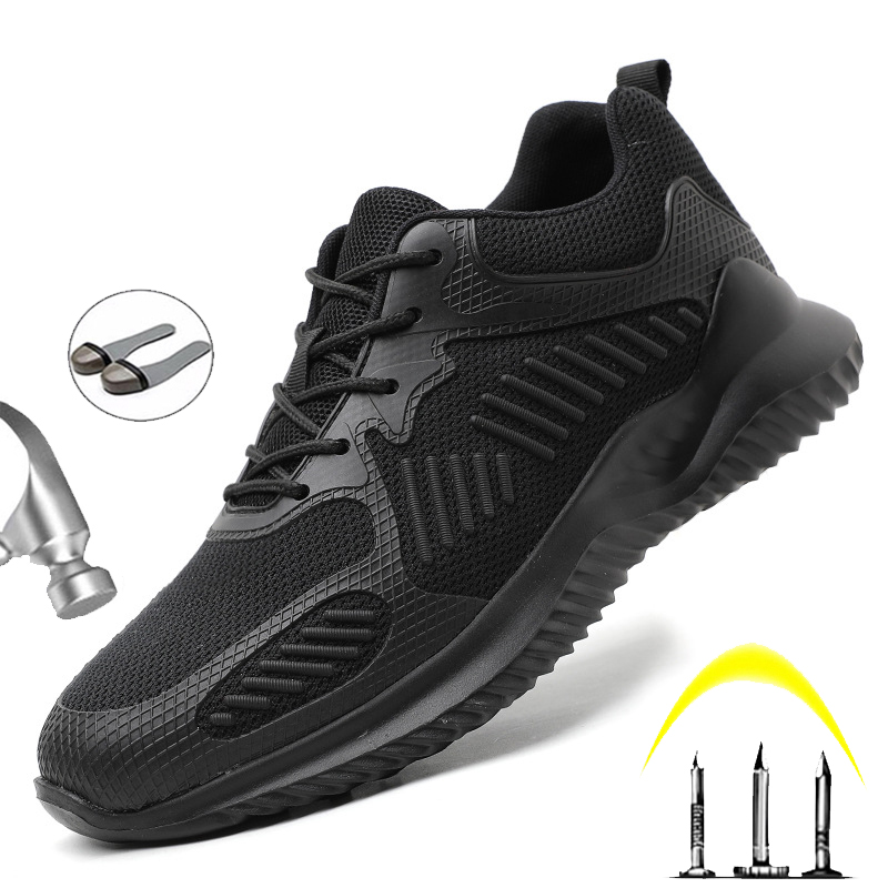 Hot Sale New Steel Head Safety Shoes 2020 Men's Outdoor Waterproof Non-Slip Wear-resistant Sports Shoes Breathable Anti-scald Work Shoes