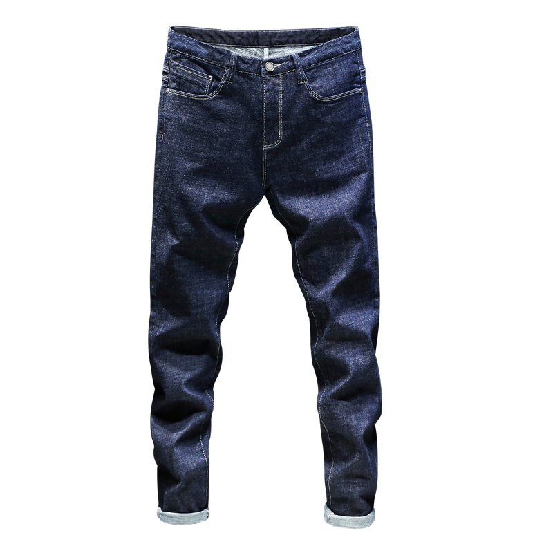 2020 New Fashion  Full Lenght  Jeans Men Streetwear Slim Fit   Autumn Winterr  Plus Size 40 42 44 46