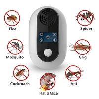 초음파 곤충 해충 구충제 실내 해충 방제 장비 전기 모기 설치류 쥐 마우스 초음파 Repeller