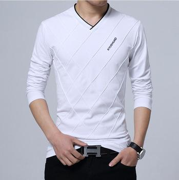 2019 New Summer Spring Women and Mens Long Sleeve Cotton Tshirts Fashion Casual O-Neck T-Shirts M-XXL 1