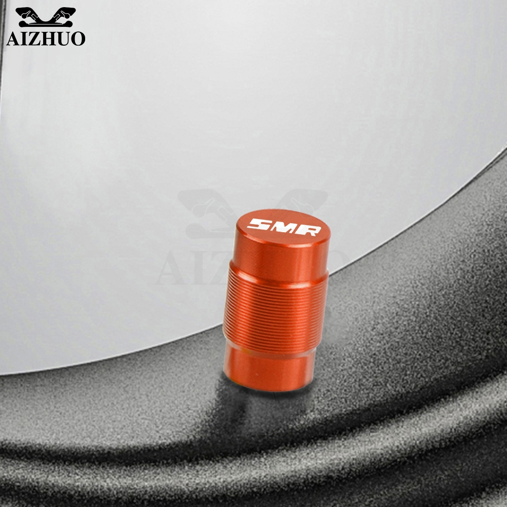 For <font><b>KTM</b></font> 990 SMR 990 SMT <font><b>950</b></font> <font><b>SM</b></font> 2009 2010 2012 2013 CNC Motorcycle Wheel Tire Valve Stem Caps Airtight Covers image