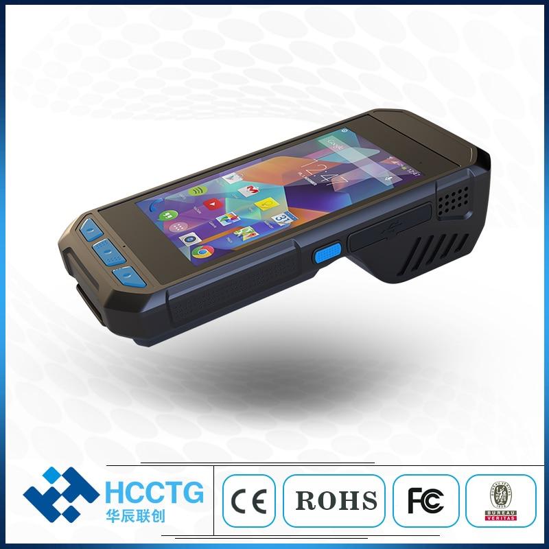 PDA tenu dans la main androïde RFID de cible industrielle rocailleuse de position d'oem avec l'imprimante intégrée T980