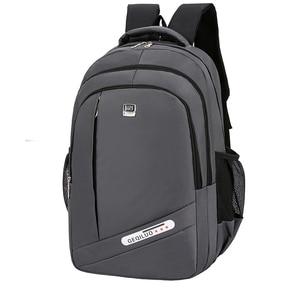 Image 1 - אופנה תרמיל 2020 גברים תרמיל מחשב נייד תיק פנאי נסיעות בית ספר נער כתף תיק Bagpack Backbag מוצ ילאס זכר