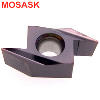 MOSASK ABS Plate ABS15R4015 ZM890 Processing Stainless Steel Small Parts After Turning Cemented Carbide Inserts