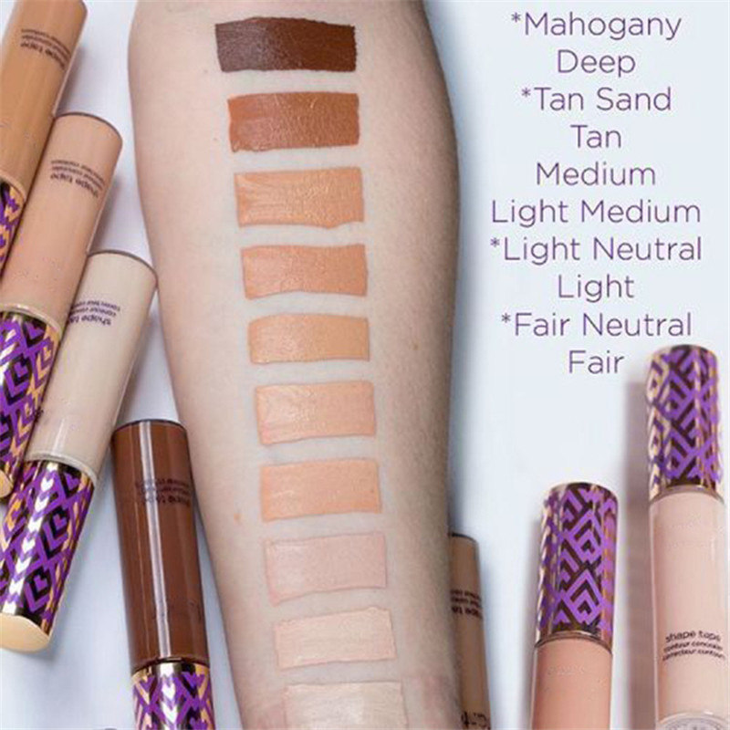 5 Colors shape tape contour concealer Stick Face Liquid Foundation Facial Makeup Dark Eye Circle Hide Blemish Face Care image