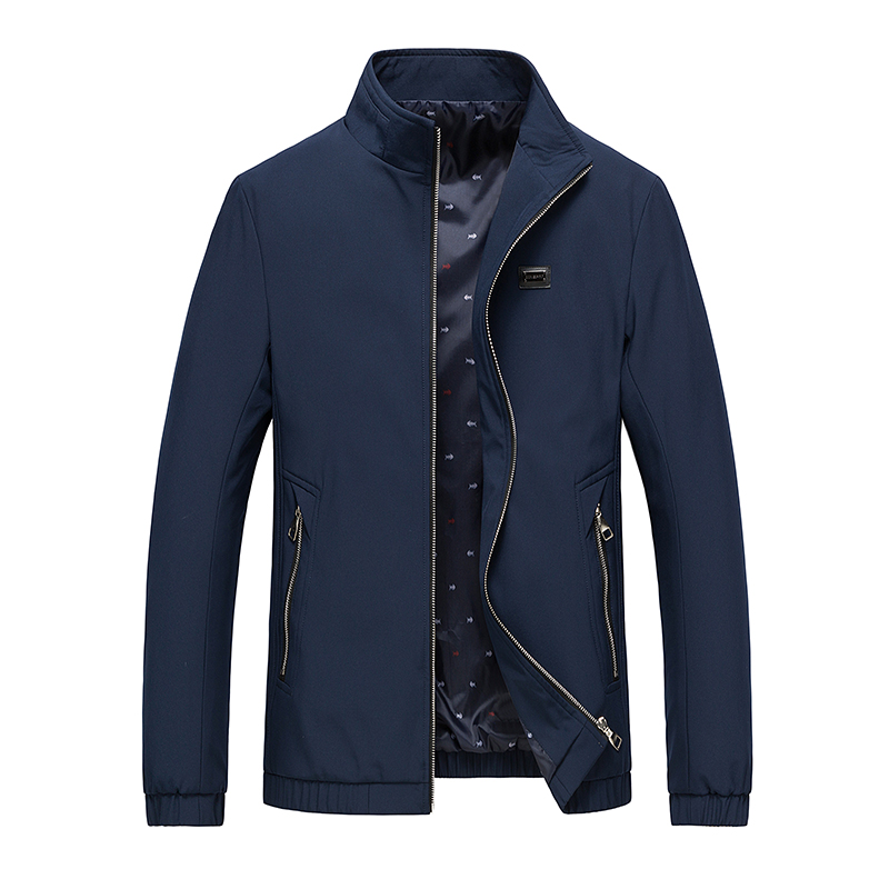 Popular Men Business Casual Jackets Men's Solid Color Jackets Spring Autumn New Male England Thin Jacket Coat Chaquetas Hombres