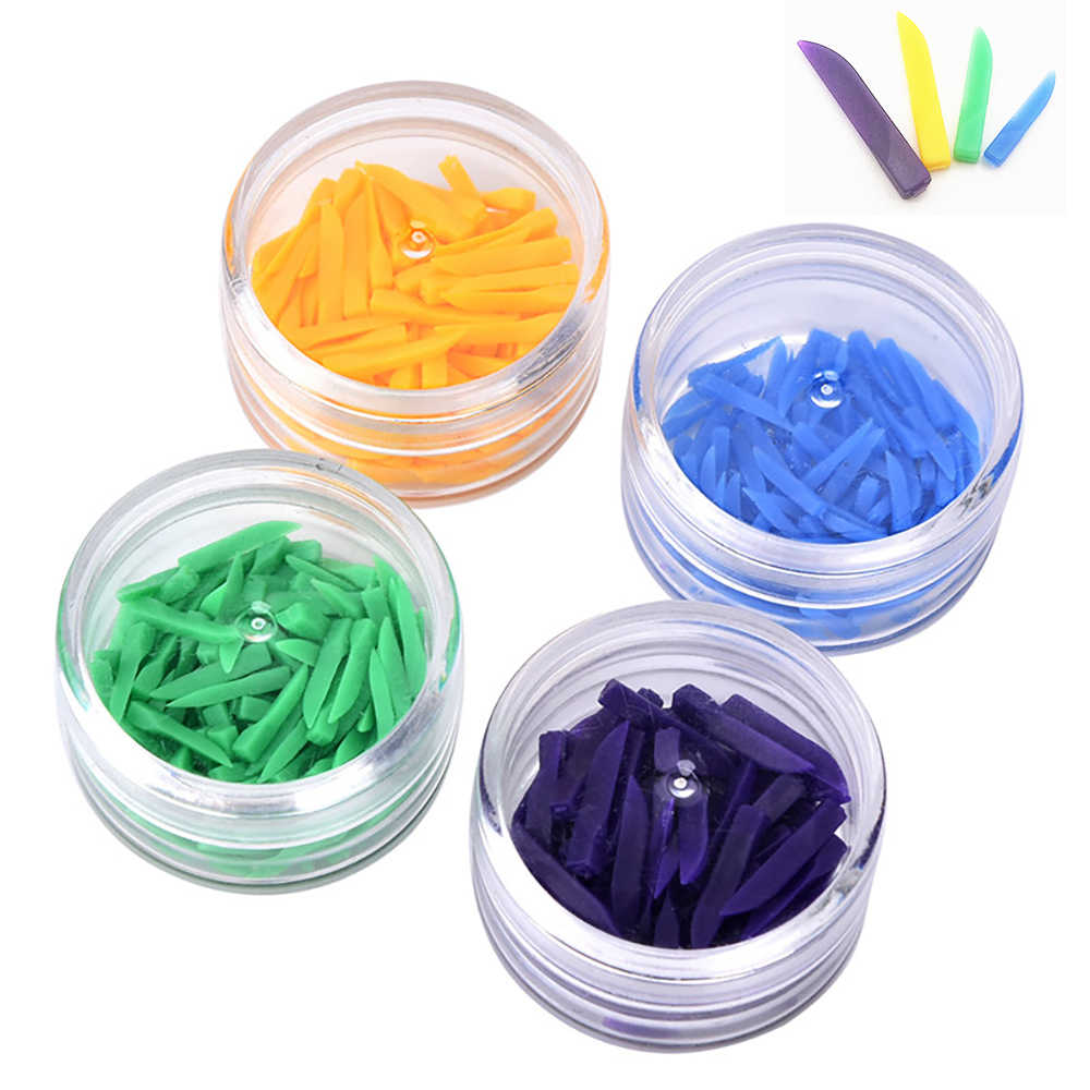 12 תיבות פנויה שיניים חומרים טריזי פלסטיק רפואת שיניים מעבדת כלי כלים רופא שיניים פער טריז
