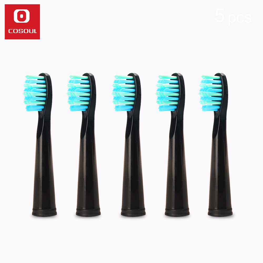 Original COSOUL Electric Toothbrush Heads Tooth Brush Replacement Heads Deeply Clean Whiten Oral Healthy Care