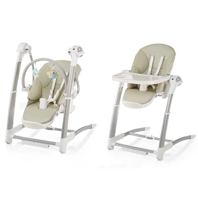 Folding Baby Rocker Swing 2 In 1 For Newborn Dining Chair Multifunction Electric Baby Rocking Chair With Remote Control