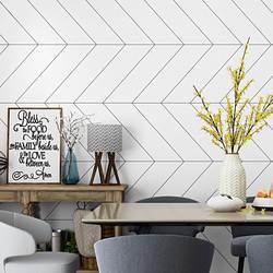 Северные обои INS современный минималистский геометрический узор линии графика спальня фон телевидения в гостиной Wal
