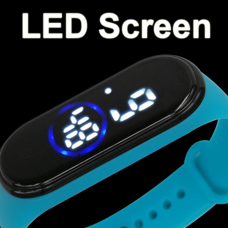 Touch Screen Men's Digital Watches New LED Fashion Sports Waterproof Military Wrist Watches Men Women Bracelet Electronic Watch