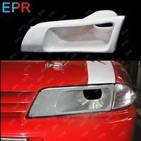 For Nissan Skyline R32 Skyline GTR GTS Ven Style FRP Fiber Unpainted Headlight Replacement Car accessories Bodykit(LHS)