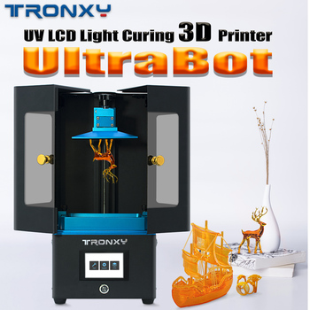 TRONXY 3D Printer UV Resin LCD Light Curing 3d Printers SLA Slicer Photosensitive Resin 405nm Matrix 3d Drucker Impressora