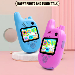 Kids Toys Camera Walkie Talkie Interactive Toys for Children Outdoor Game Baby Toy High Quality Cameras Birthday Gift
