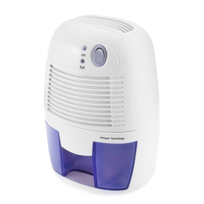 INVITOP Portable 500ML Mini Air Dehumidifier Moisture Absorbing Air Dryer With Auto-Off LED Indicator Air Dehumidifier Low Noise