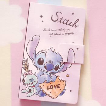 1pc lovely cartoon tsum mickey mermaid  Stitch notebook Color Paper Diary Book  School Office Supplies Stationery