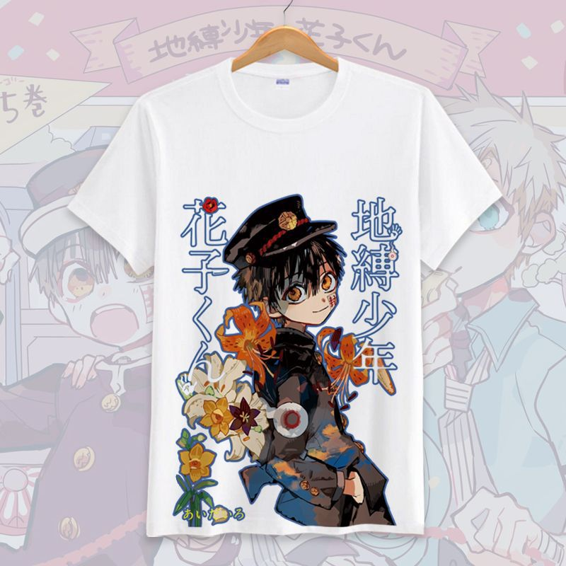 New Anime Toilet-bound Jibaku Shounen Hanako Kun T-shirt Nene Yashiro Women Men Tshirt Short Sleeve Tops Summer Casual Tees