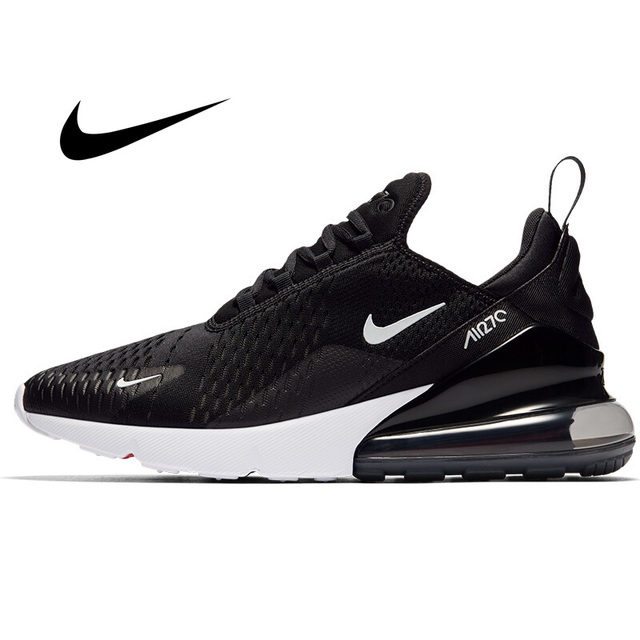 Nike Air Max 270 Men's Running Shoes Classic Outdoor Sneakers Breathable Lace-up Damping Anti-slip Fitness Jogging WalkingAH8050
