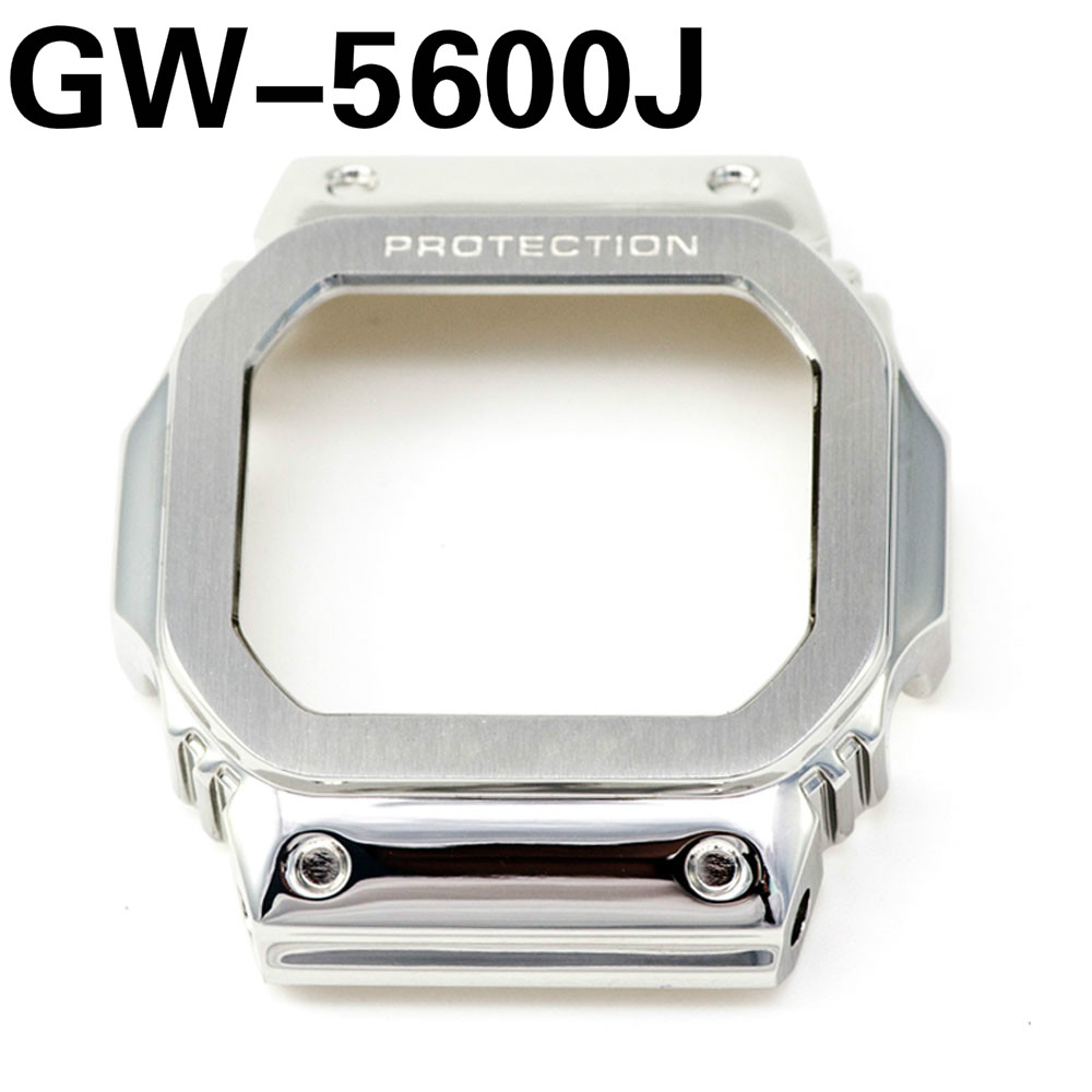 Bezel For GW-5600J ONLY 316L Stainless Steel Metal Watchbands Cover Tools Wholesale Watch Strap Band Case