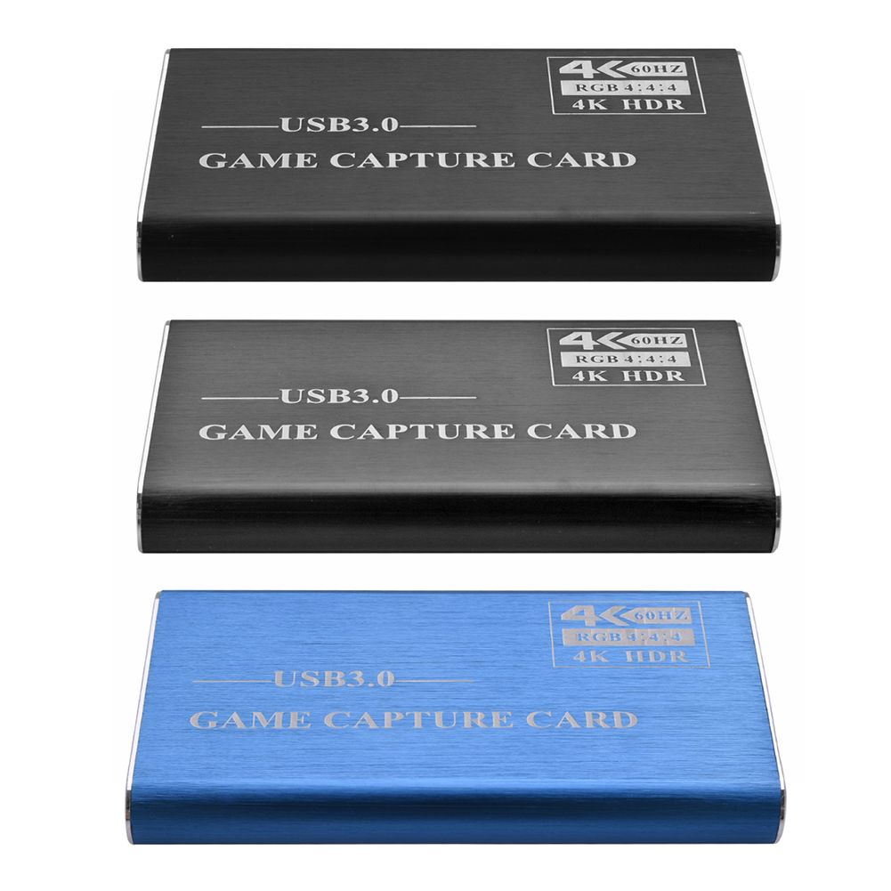 Multi-functional 4K <font><b>HDMI</b></font> Game <font><b>Capture</b></font> <font><b>Card</b></font> Classic Practical <font><b>USB</b></font> <font><b>3.0</b></font> 1080P Video Grabber Dongle for Live Streaming image