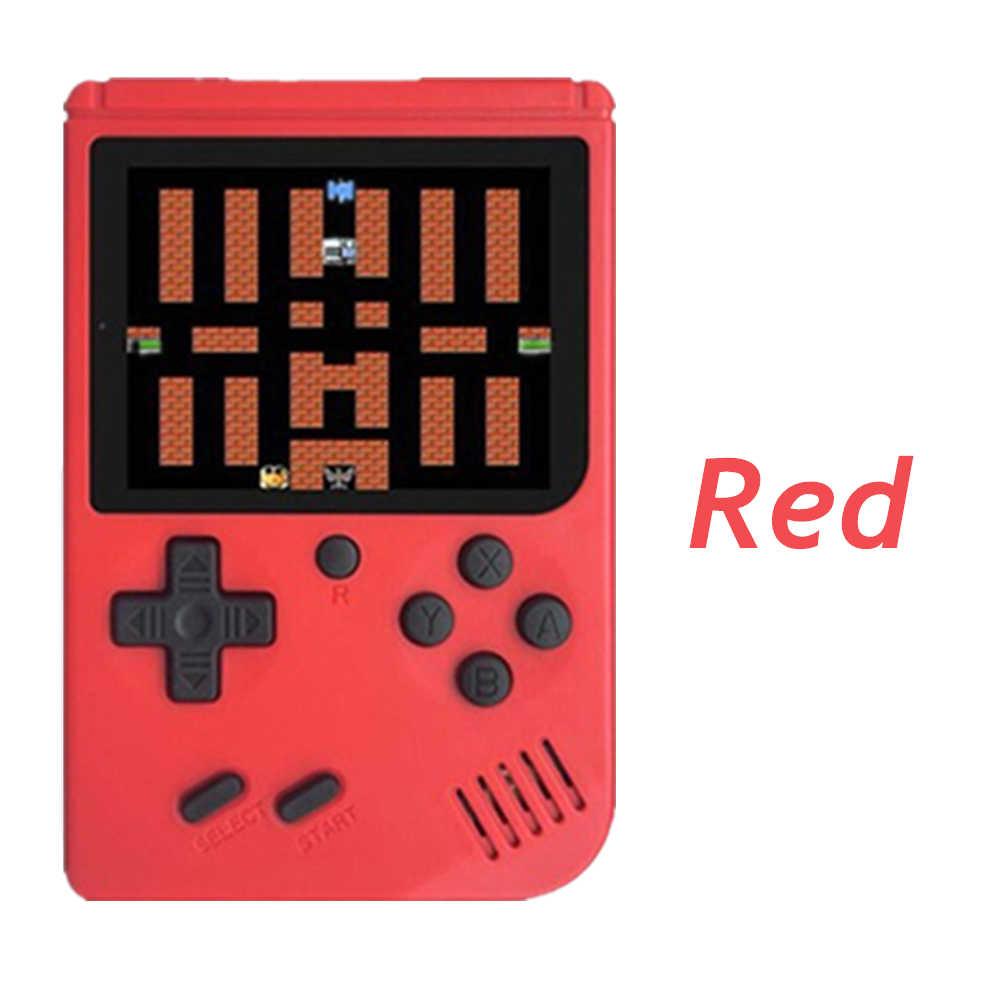 لعبة فيديو صغيرة وحدة التحكم المدمج في 500 الكلاسيكية الحنين ألعاب لاعب الرجعية 8 بت جيب يده لعبة لاعب أفضل هدية للطفل