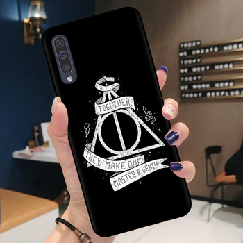 Harry Potter Phone Case for Samsung A Series Deathly Hallows Quote 7