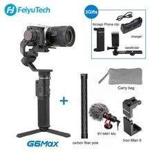 Feiyu tech G6 MAX 3 osi bezszczotkowy Gimbal stabilizator dla mikro , małych i pojedyncze Canon działania aparat fotograficzny YI Gopro 7 6 5