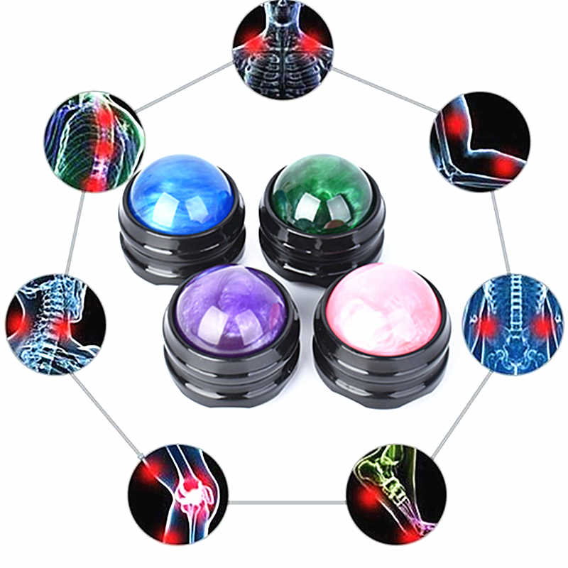 Mo Tulip Massage Roller Ball Massager Body Therapie Voet Terug Taille Heup Relaxer Stress Release Spier Ontspanning Drop Shipping