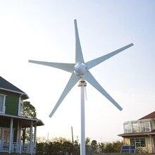 R & X Tuốc Bin Gió Công Suất Máy Phát Điện 400W Gió Máy Phát Điện 5 Lưỡi Dao 12V/24V Tùy Chọn Sử Dụng cho Đất Mềm Bảo Hành 3 Năm
